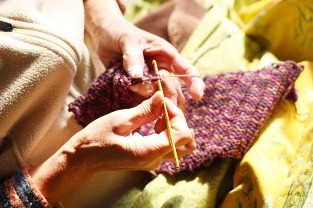 【日記】15年ぶりの編み物教室に行ってきました☆